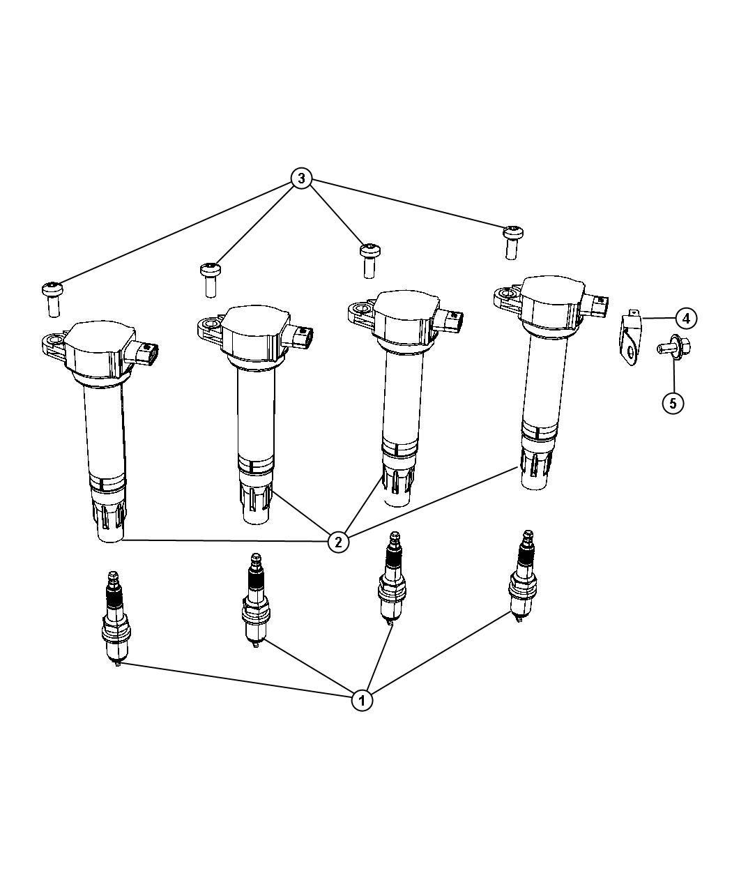 Dodge Journey Spark Plug Resistor Plugs Ignition