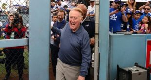 Dodgers News: Vin Scully Avenue will be officially dedicated