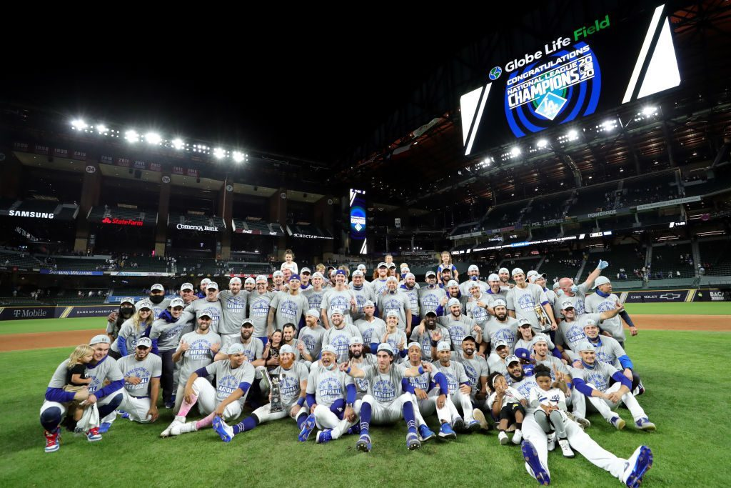 Dodgers Players React to Game 7 Win, World Series Berth