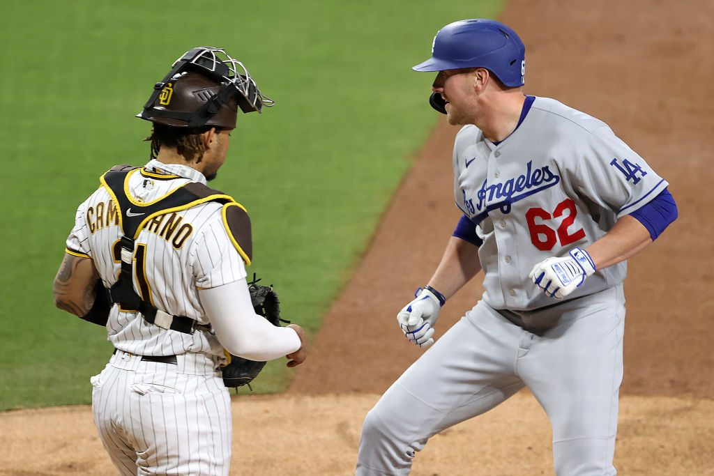 Dodgers: Luke Raley Gets the Ball Back From His First Big League Homerun