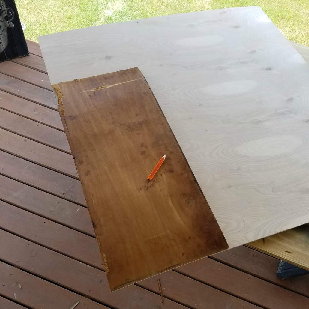 Repairing a dresser draw is a bit challenging, but can be done on an old wood dresser.