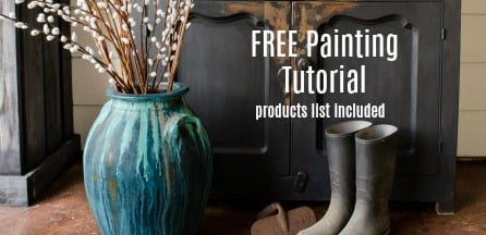 Get your FREE Primitive, Rustic Painting Tutorial now!