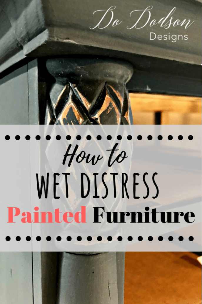 Tips for an effortless distressed dresser that looks amazing!