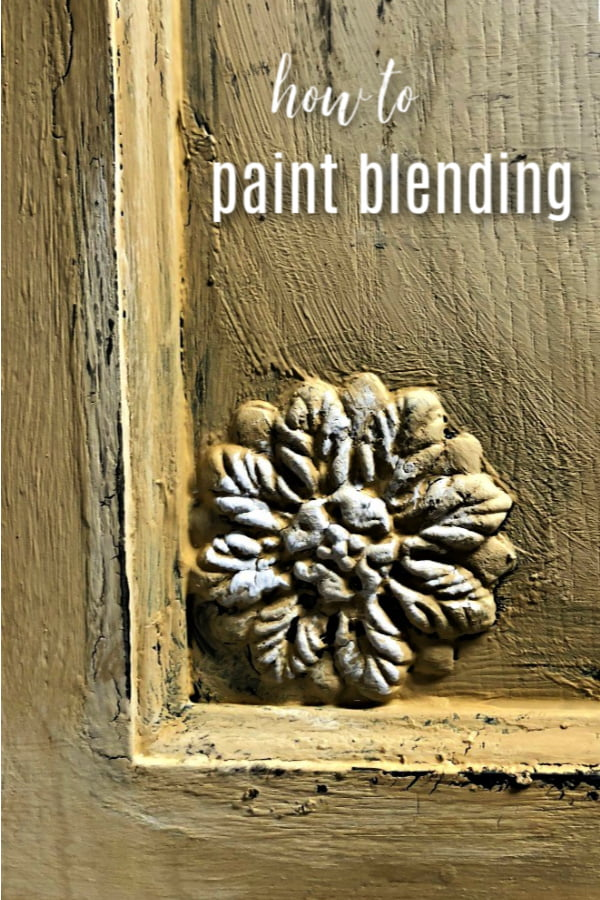 How to master paint blending on home decor.