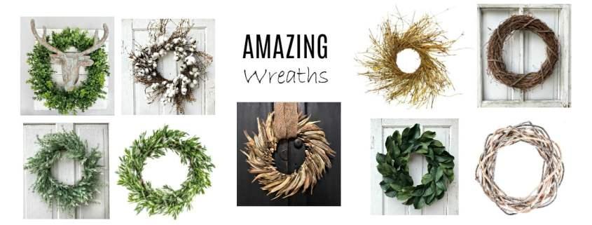 Amazing Wreaths #dododsondesigns #wreaths #homedecor