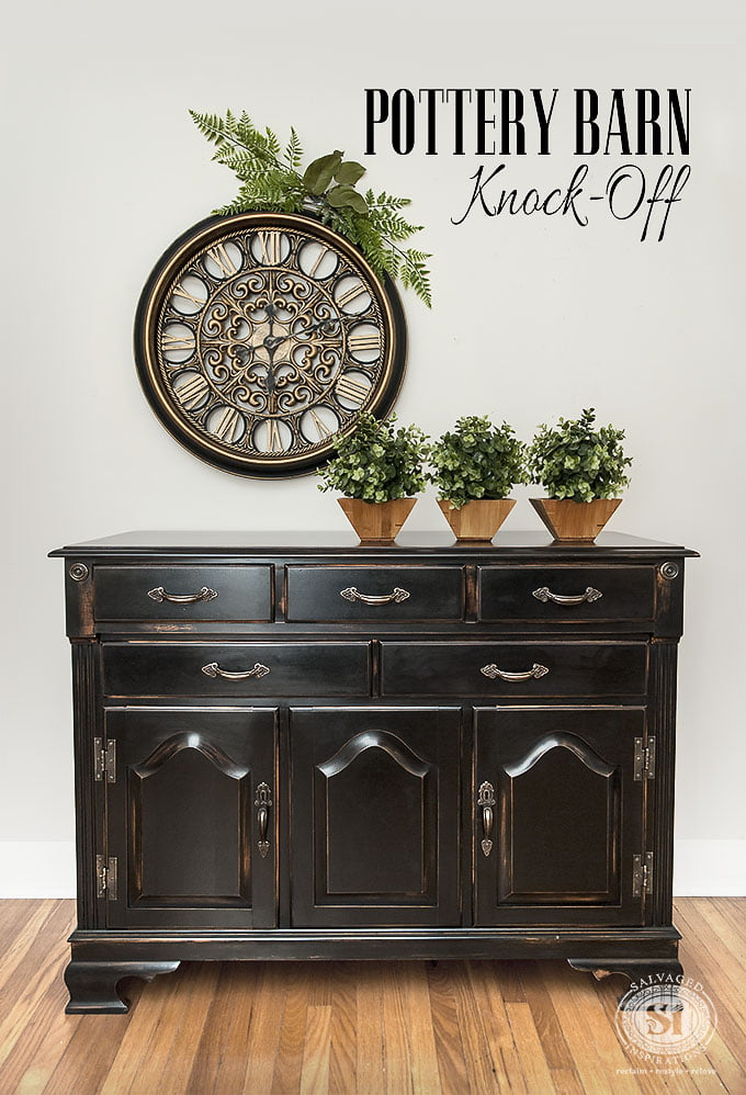 Distressed Black Furniture