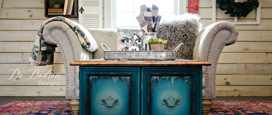 How I Made Different Furniture Paint Colors With Dixie Belle