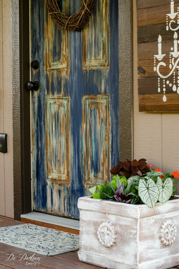 Like Patina Finish? Then You'll Love This one! #dododsondesigns #patinafinish #patina #rustpaint #copperpatinapaint