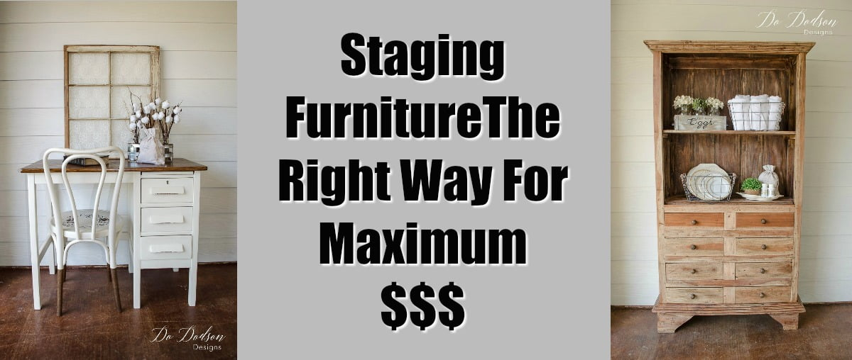 Superbe Staging Furniture The Right Way For Maximum $$$ Profit   Do Dodson Designs