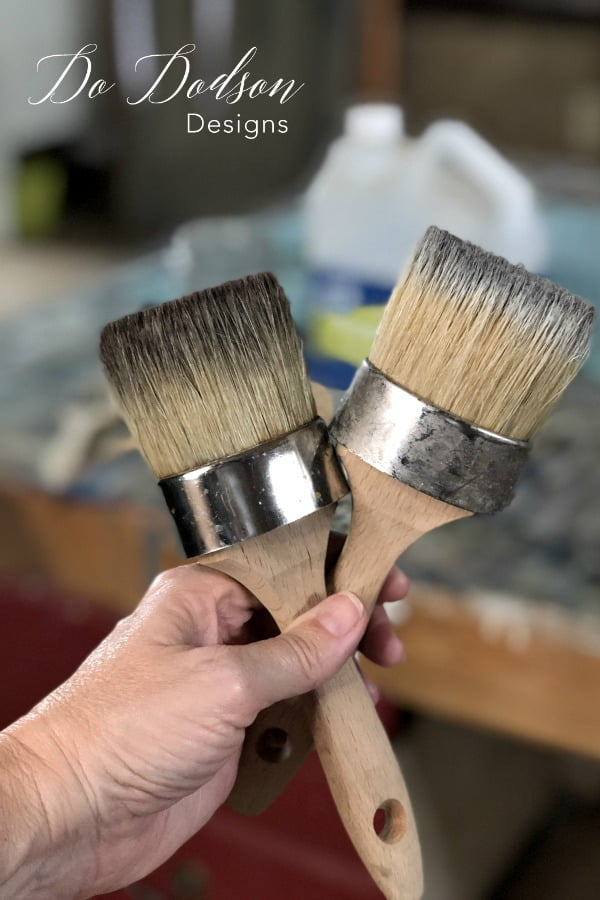 How To Clean Wax Brushes The Right Way