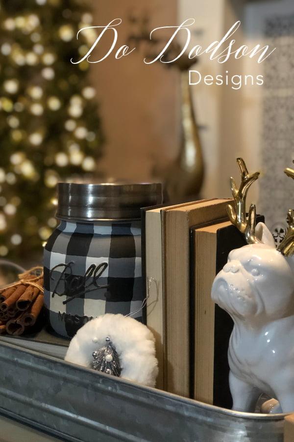 Every home needs a little buffalo plaid home decor for the holidays.