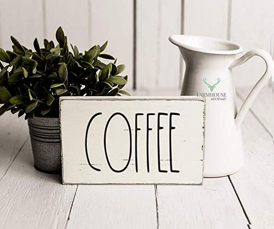 Rae Dunn Coffee Sign Gift Ideas For Women