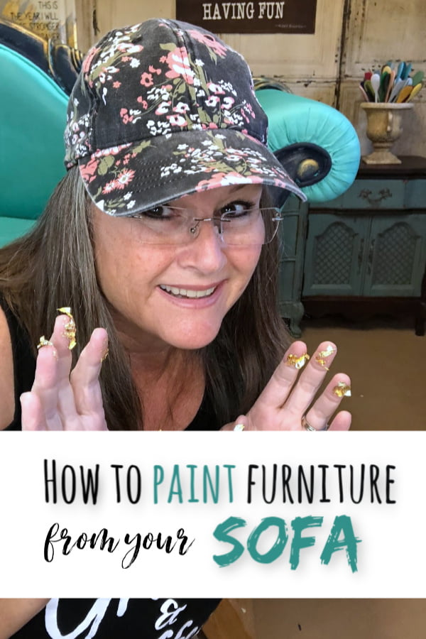Learn how to paint furniture from the comfort of your sofa!