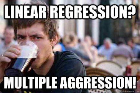 regression and aggression