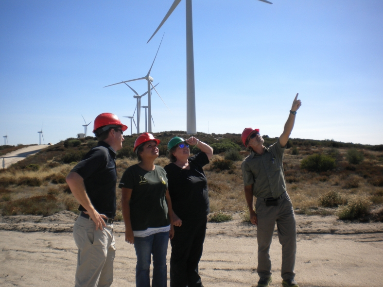 Campo Indian Reservation Wind Power, September 2012, from US DOE Website