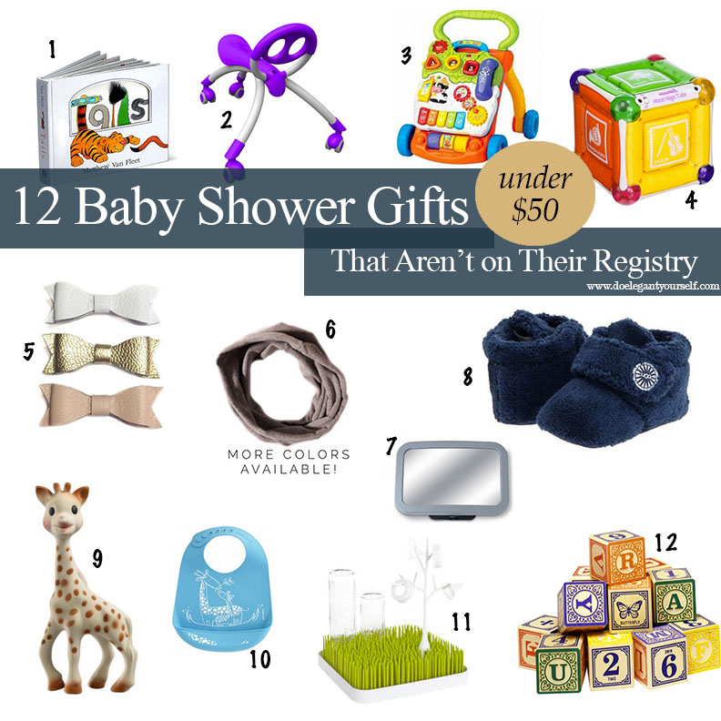 12 Baby Shower Gifts that aren't on Their Registry (they'll thank you later!)