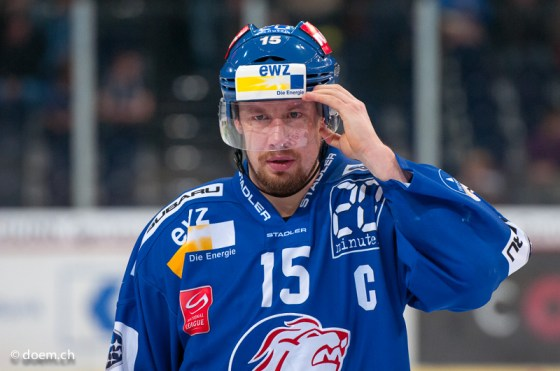 Captain der ZSC Lions: Mathias Seger