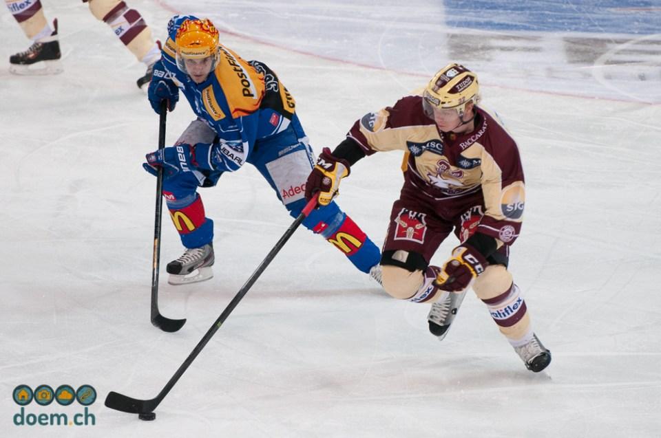 Luca Cunti gegen Lennart Petrell