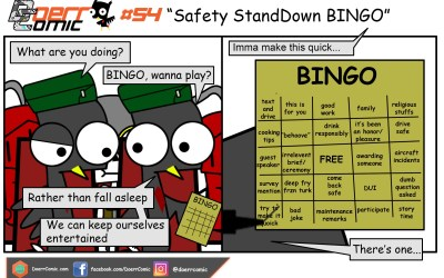 54. Safety StandDown BINGO
