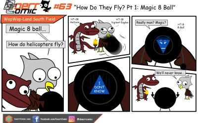 63. How Do They Fly? Pt 1:Magic 8 Ball