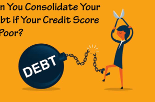 Can You Consolidate Your Debt if Your Credit Score is Poor