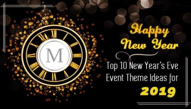 Top 10 New Year's Eve Event Theme Ideas for 2019