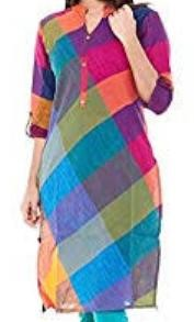 • Multi-Colored Magic Kurtis