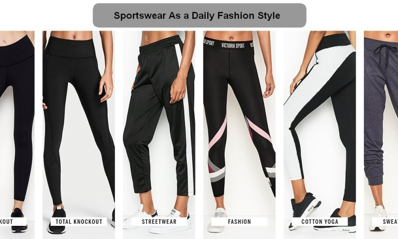 Sportswear As a Daily Fashion Style