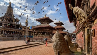 Staying in Patan - Nepal