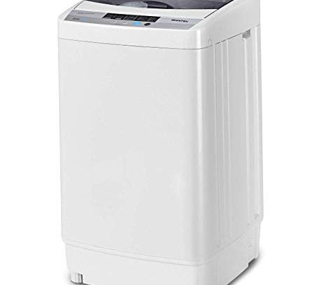 Giantex Portable Compact Full-Automatic Washer Laundry 8 lbs Load Capacity Washing Machine Washer/Spinner W/Drain Pump