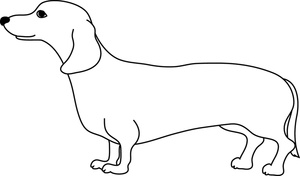 weiner dog coloring pages cooloring com