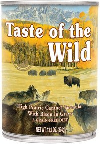 Taste of the Wild High Prairie Wet Dog Food