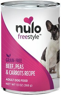 Nulo Freestyle Adult Beef, Peas, and Carrots Canned Grain-Free Wet Dog Food