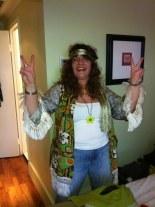 Sylvia har börjat få hippiekänslan.
