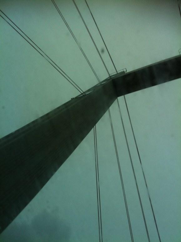 Tillbaka över Tjörnbron.Tack för denna dag!