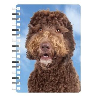 030717115730 3D Notebook Labradoodle Brown