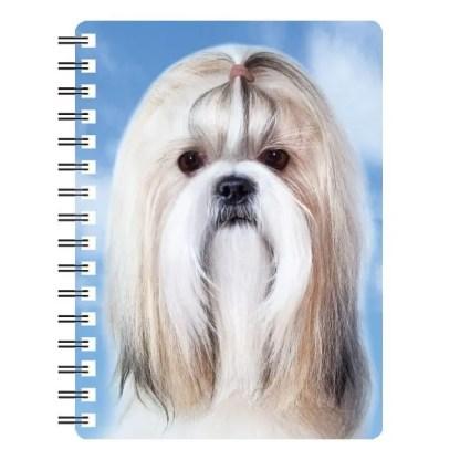 030717115792 3D Notebook Shih-Tzu 1
