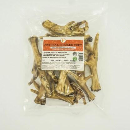 634158912924: JR Pure Healthy Natural Chicken Feet - 10pk