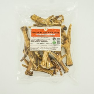 634158912924: JR Pure Healthy Natural Chicken Feet - 10pk