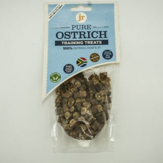 634158951398 JR 100% Healthy Pure Ostrich Training Treats