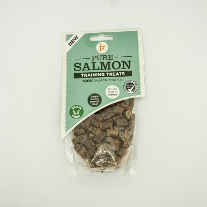 634158676116 JR 100% Healthy Pure Salmon Training Treats