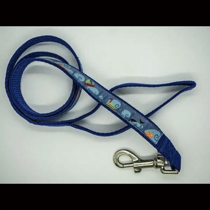 Ocean Deep Theme on Blue Lead 110cm.