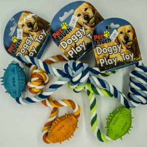 Pet Touch Rope Tug Toys.
