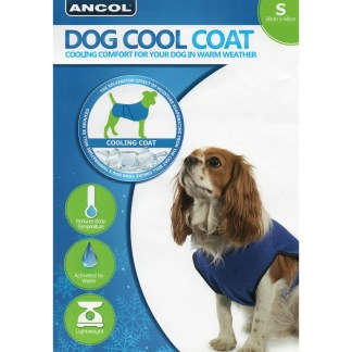 016646097927 Ancol Dog Cool Coat S