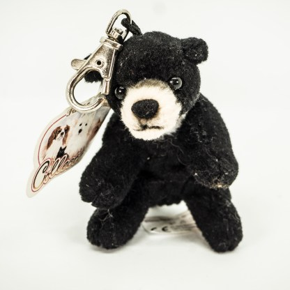Bear Black Hanging Mini Cuddly