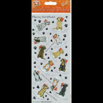 Christmas Design 1 Creative Craft Stickers