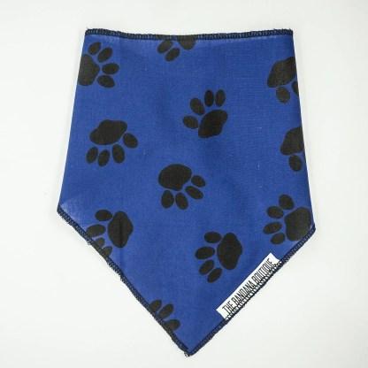 Pawprints on Blue Small Bandana