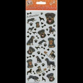Rottweiler Creative Craft Stickers