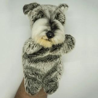 Schnauzer Glove Puppet