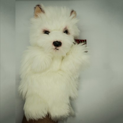 West Highland Terrier Glove Puppet